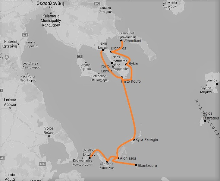 The Sporades Route